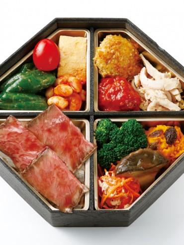 滋味溢れるお肉と土を知る野菜の味わいスペシャル弁当