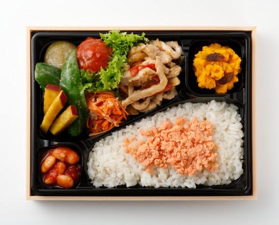 下田さん家の豚の味噌しょうが焼き弁当