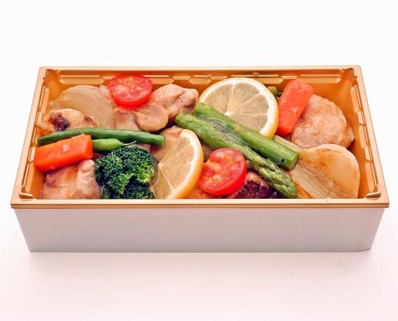 鶏肉と野菜の彩弁当