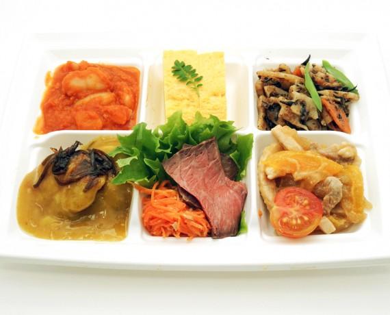惣菜6種盛り合わせ