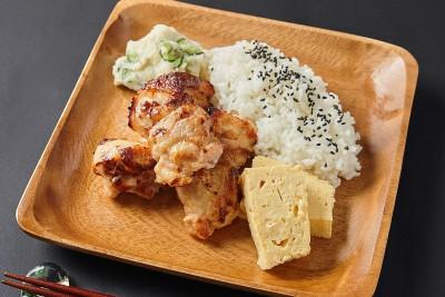 大山鶏の唐揚げ弁当(ノンフライ製法) 【Uber Eats限定メニュー】 1200円(税込)