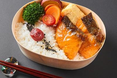 石巻の銀鮭弁当