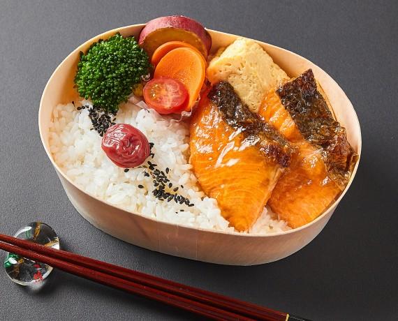 石巻の銀鮭弁当<!--1188円(税込)-->