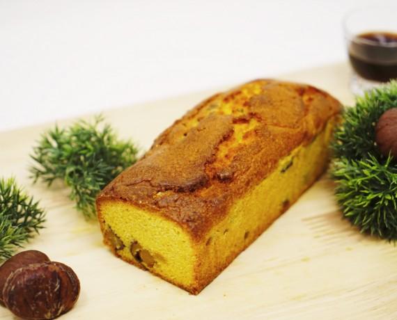パウンドケーキ(栗の渋皮煮)