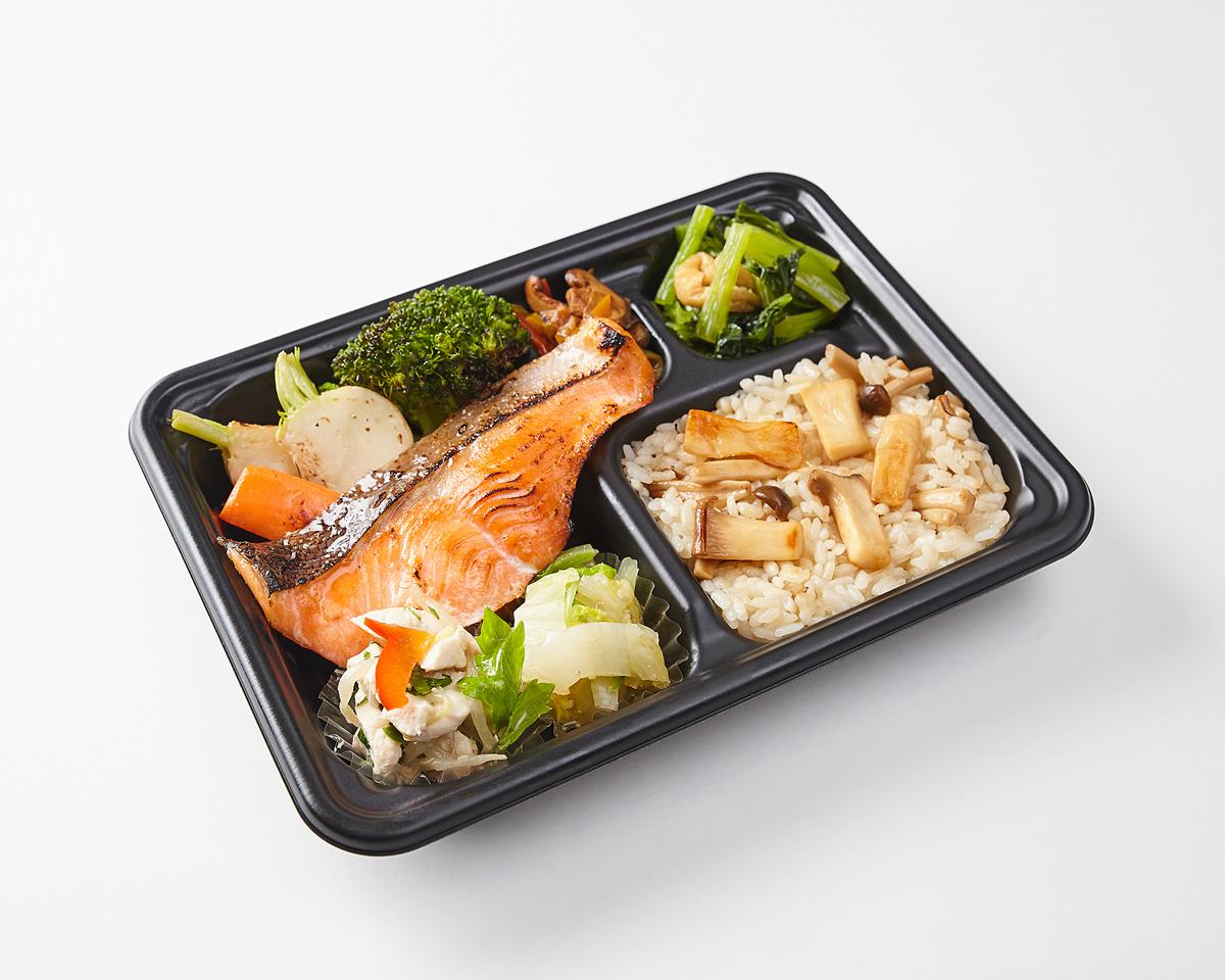 気仙沼銀鮭の西京味噌焼き弁当