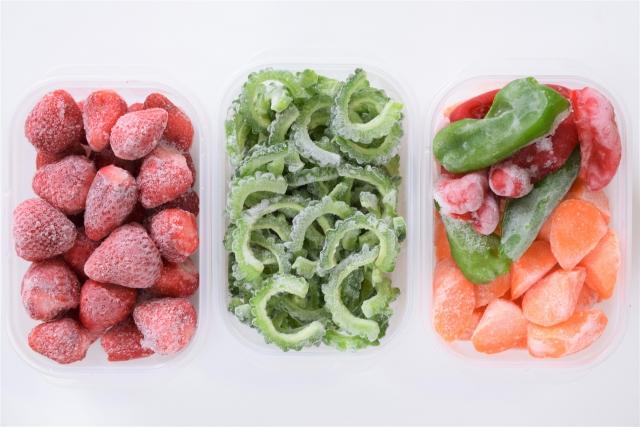 冷凍野菜とフルーツ